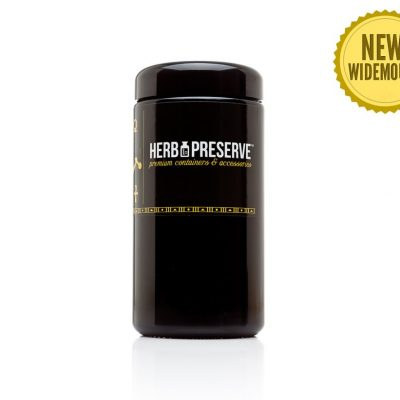 Herb Preserve 1 oz Screw Cap Airtight Stash Jar