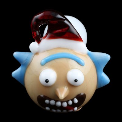 Santa Rick Glass Pipe