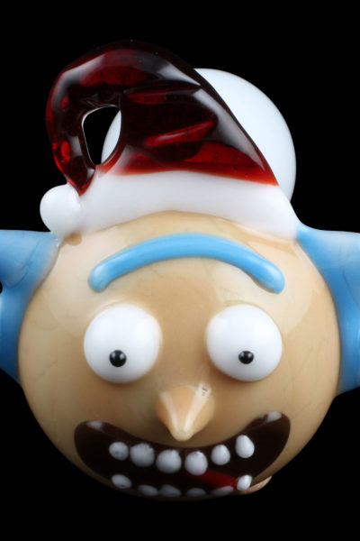 Santa Rick Glass Pipe