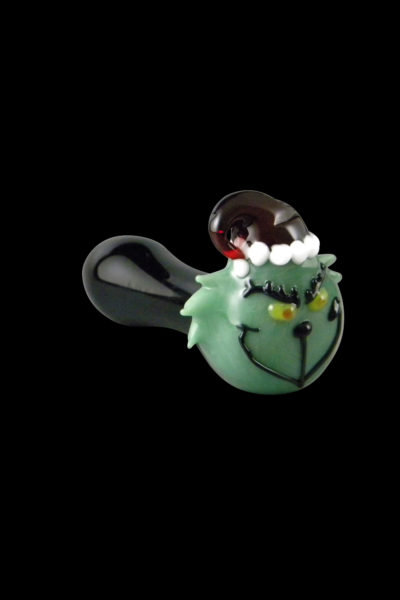 Grinch Glass Pipe