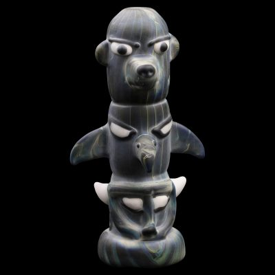 Totem Pole Glass Pipe
