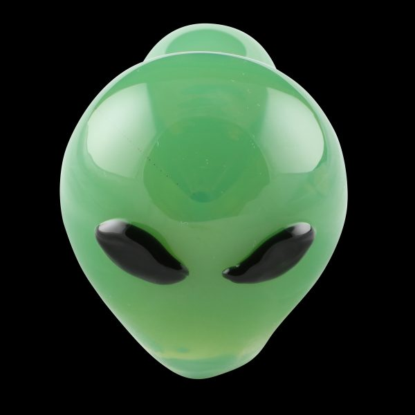Alien Visitor Glass Pipe