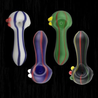 Pin Stripe Glass Pipe