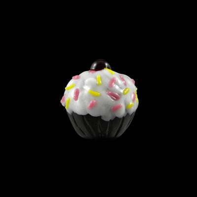 Cupcake Glass Pipe