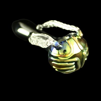 Golden Snitch Glass Pipe