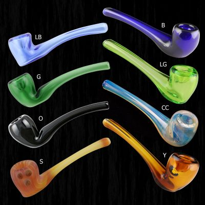 Aragorns Briar Glass Pipe