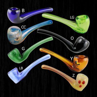 Aragorns Briar Glass Pipe