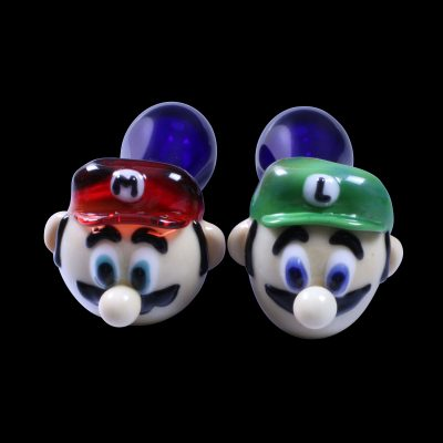 Bros Mario Glass Pipe