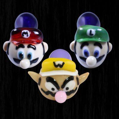 Bros Mario Glass Pipe
