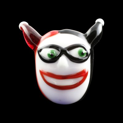Harley Quinn Glass Pipe