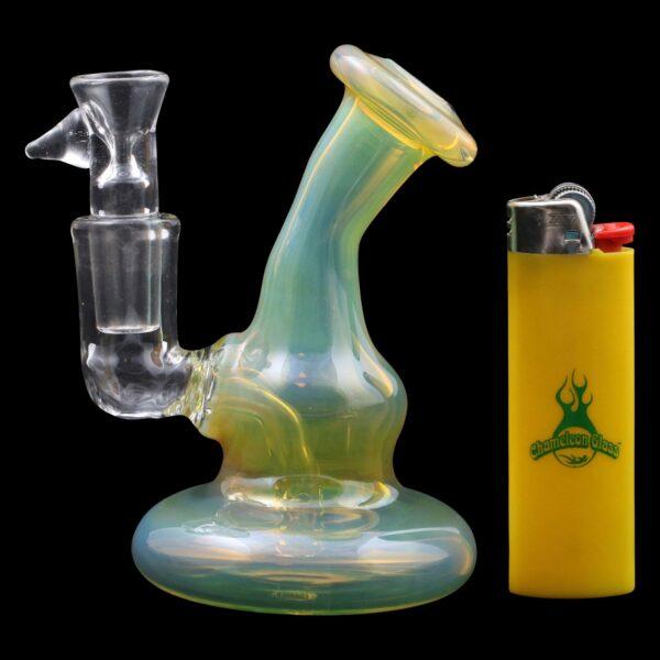 Mini Puffer Bubbler Glass Pipe