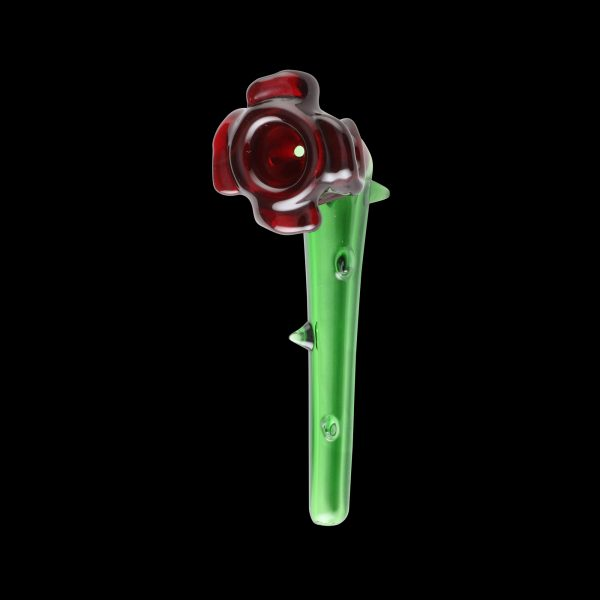 Rose Briar Glass Pipe