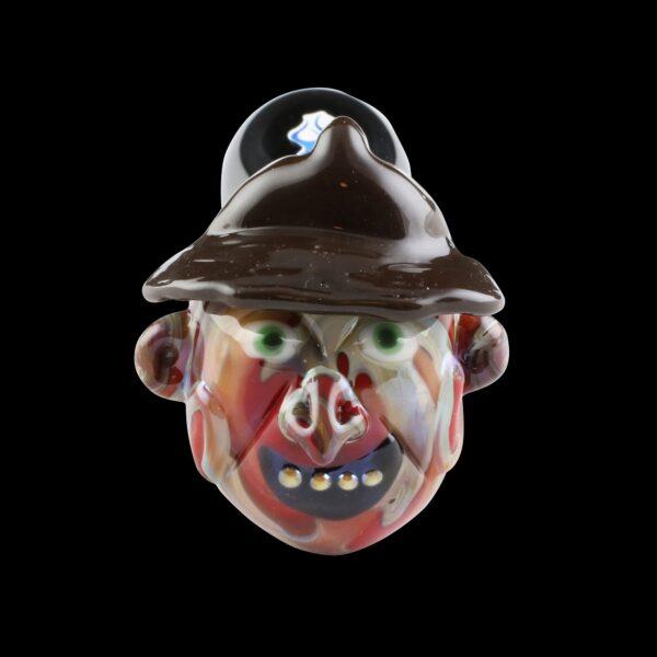 Freddy Krueger Glass Pipe