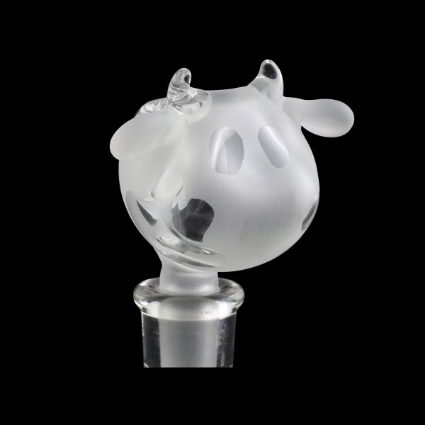 Cow Glass Bowl