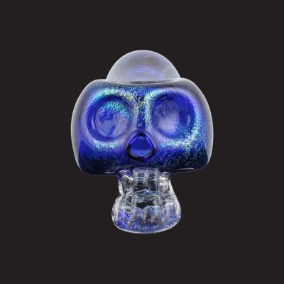 Crystal Skull Glass Pipe
