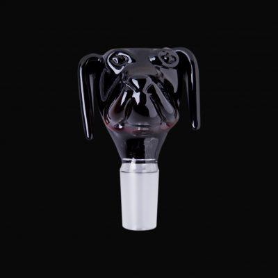 Dog Glass Water Pipe Bowl