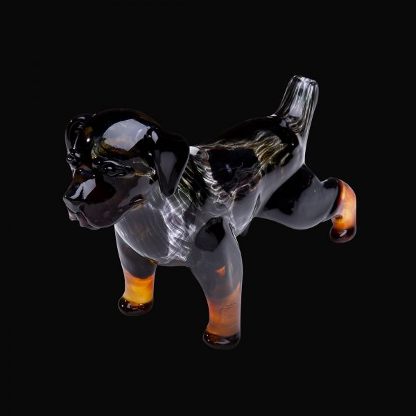 Rottweiler Glass Pipe