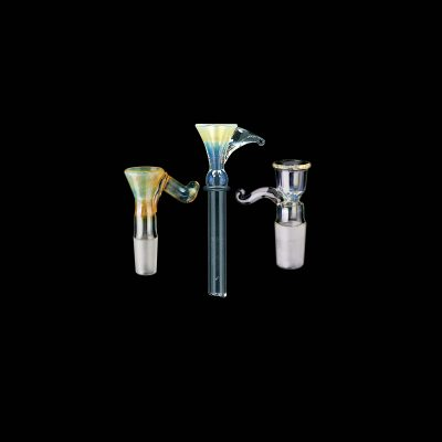 Fumed Funnel Glass Pipe Bowl