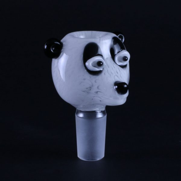 Panda Glass Water Pipe Bowl