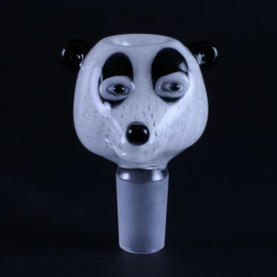 Panda Glass Water Pipe Bowl