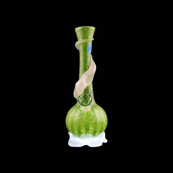 Calcifers Sand Castle Glow in the Dark Glass Water Pipe