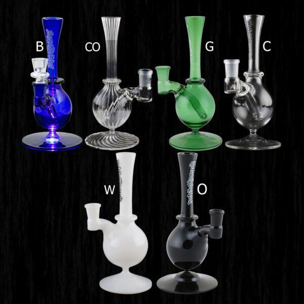 Raindrop Glass Water Pipe