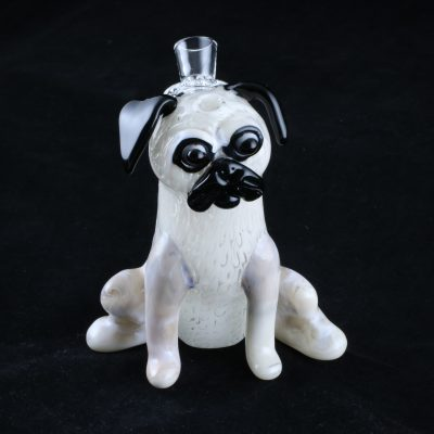 Pug Rig Glass Water Pipe
