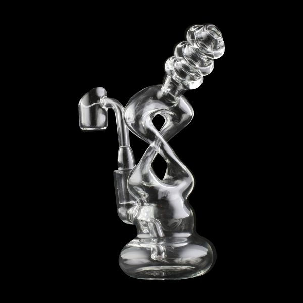 Infinity Bubbler Glass Water Pipe
