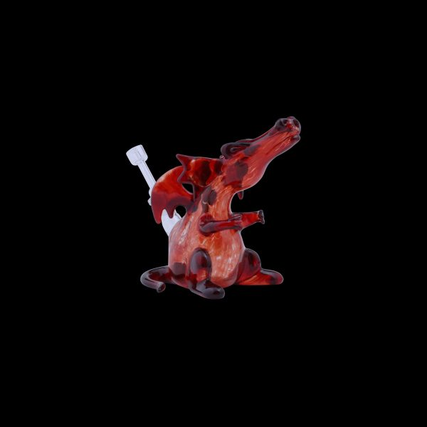 Smaug the Dragon Glass Water Pipe