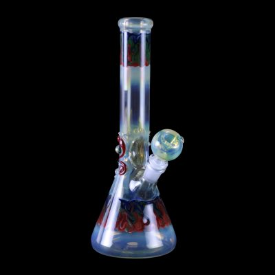 Galactic Series Beaker Colored Water Pipe
