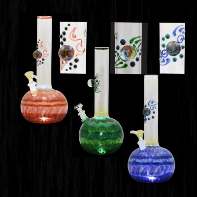 Cosmic Series Glass Waterpipe