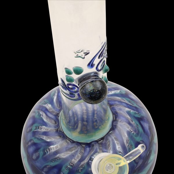 Cosmic Series Glass Water Pipe