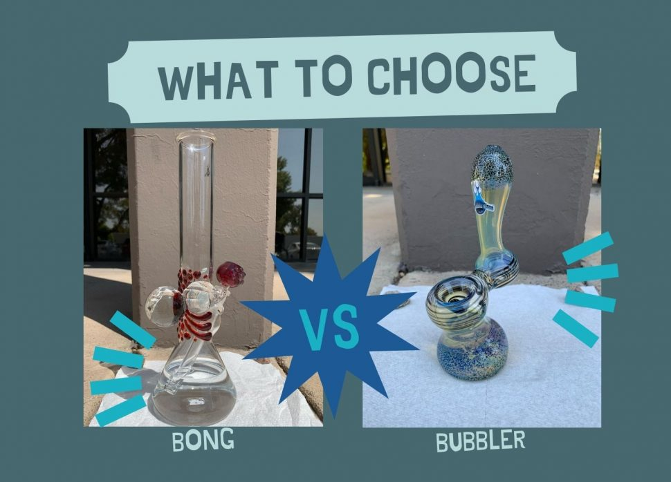 Difference between bubbler and bong