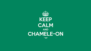 Desktop Wallpaper - Keep Calm and Chamele-on