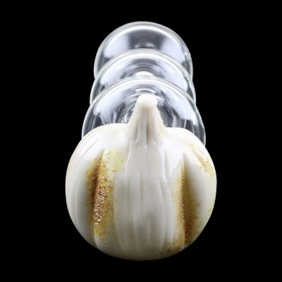 Garlic Typhoon Glass Pipe