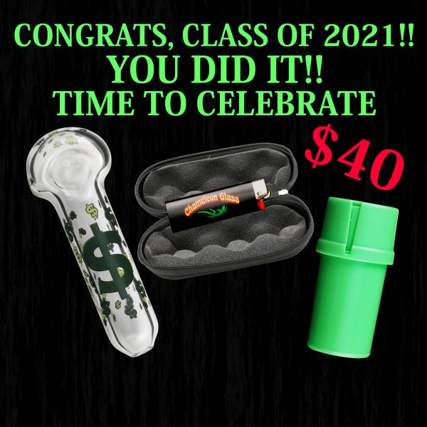 Glass Pipe Graduation Pack