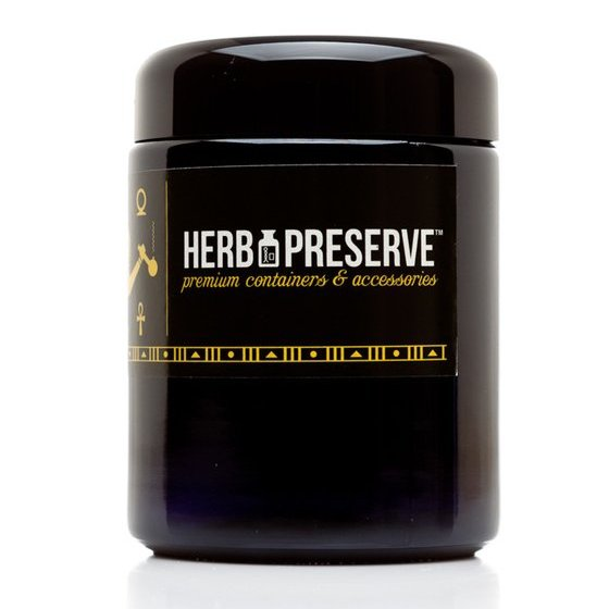 Herb Preserve 1/2 oz Screw Cap Airtight Stash Jar