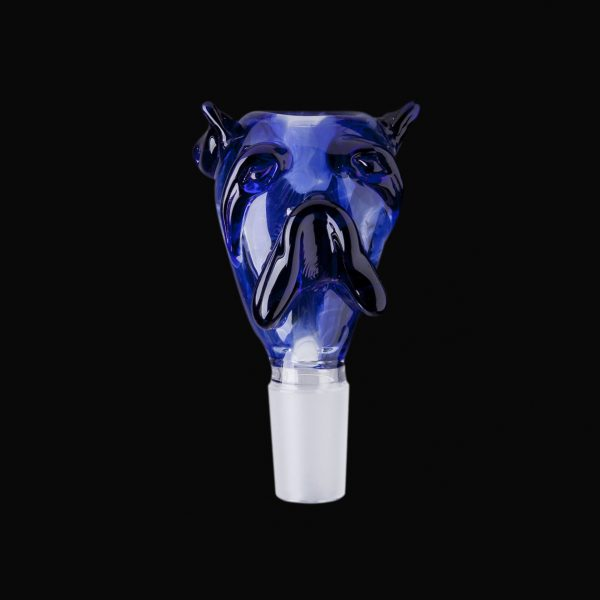 Bulldog Glass Bowl