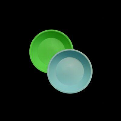 No Goo Silicone 8 inch Round Dish