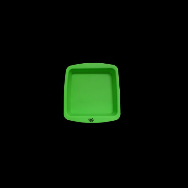 No Goo Silicone 8 inch Square Dishq