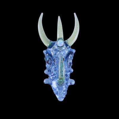 Custom Upgrade Glass Raindrop and Serum Dragon Pendant