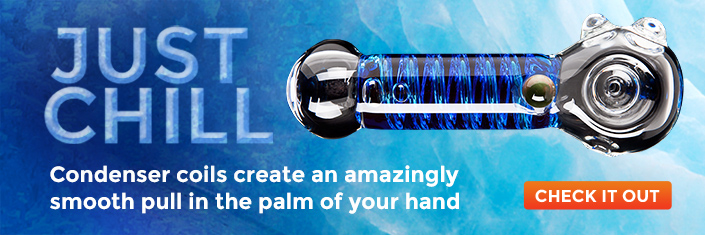 Just chill – condenser coils create an amazingly smooth pull in the palm of your hand