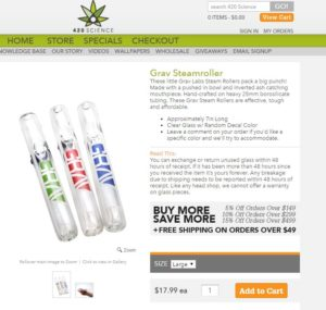 grav loves 420science