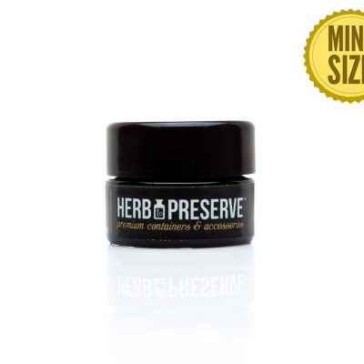 Herb Preserve 1/2 gram Screw Cap Airtight Stash Jar