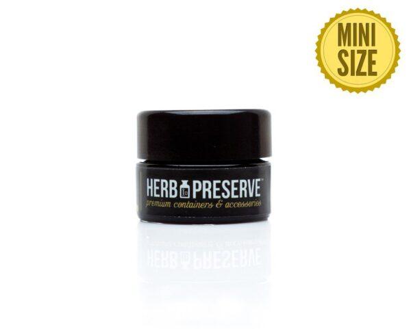 Herb Preserve 1/2 gram Screw Cap Airtight Stash Jar