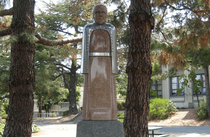 San Rafael Statue